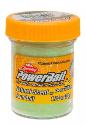 Powerbait - Light Green / Glitter - Cheese