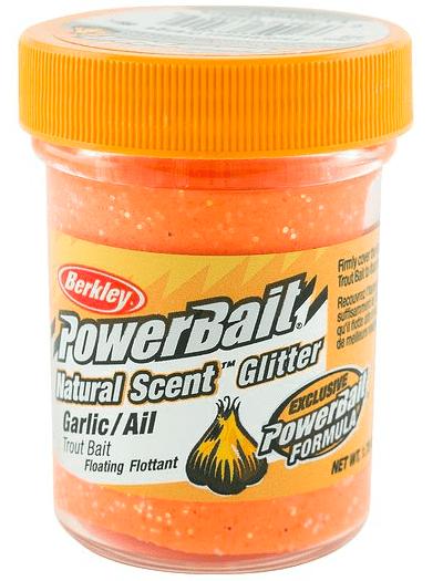 Powerbait - Fluorscent Orange / Garlic