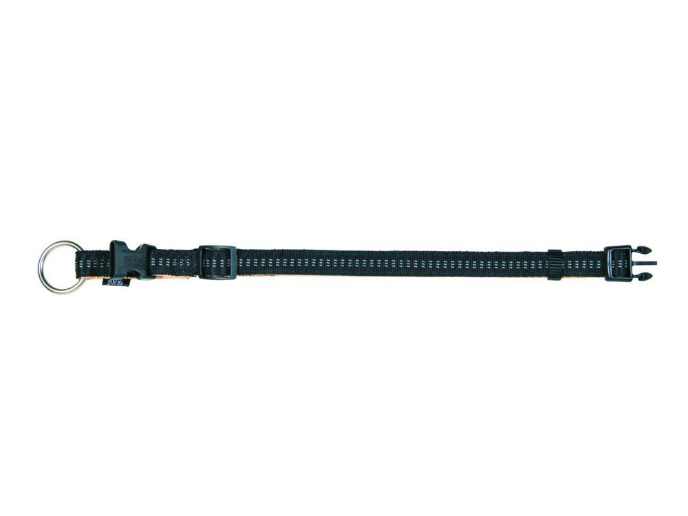 Trixie - Elegance Softline Halsbånd L - XL Sort