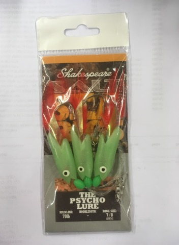 SHAKESPEARE SEA RIGS - THE PSYCHO LURE
