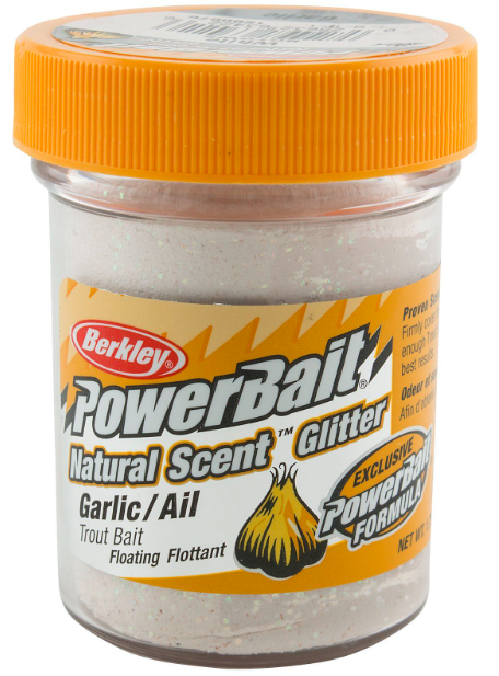 Powerbait - White / Garlic