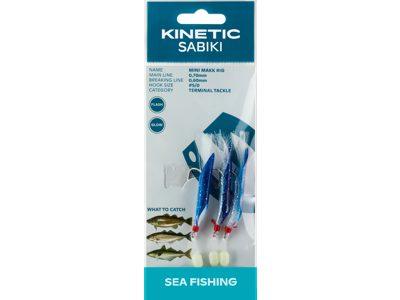 KINETIC MINI MAKK RIG #5/0 - BLUE SILVER