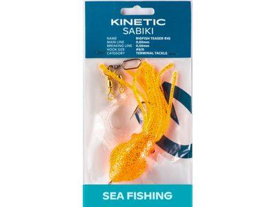 KINETIC BIGFISH TEASER RIG #8/0 - ORANGE GLOW