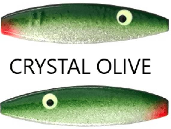 OGP Henry's Skruen 15g - OLIVE CRYSTAL
