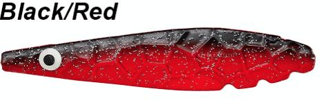 Kinetic Møn Inline 17g - BLACK RED