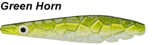 Kinetic Møn Inline 17g - GREEN HORN