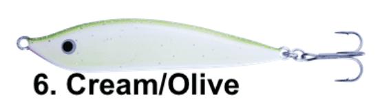 ABU MO COAST 16g - CREAM OLIVE